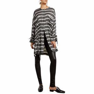 IRO Kelia Stripe Drawstring Dress